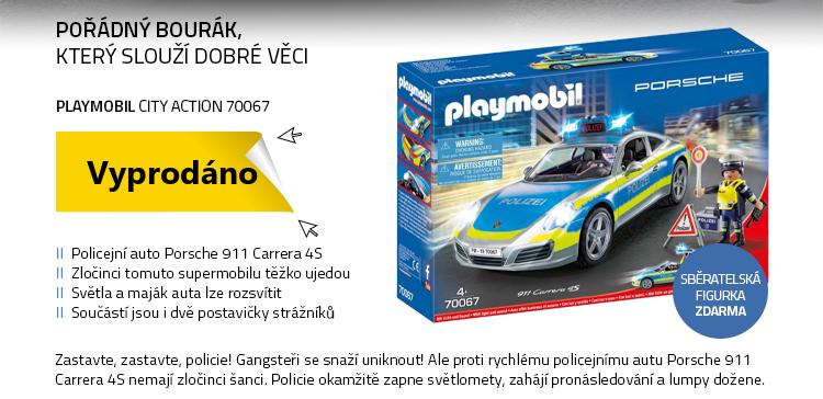 Playmobil City Action 70067 Porsche 911 Carrera 4S Policie