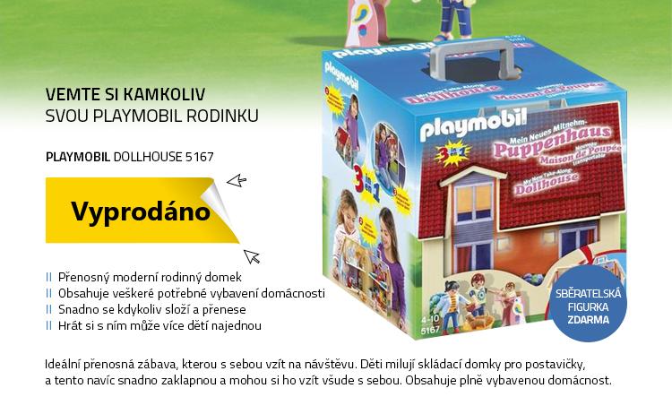 Playmobil Dollhouse 5167 Přenosný dům pro panenky