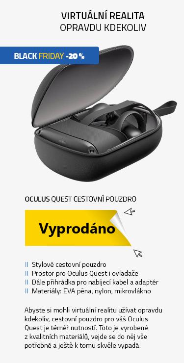 Oculus Quest cestovní pouzdro