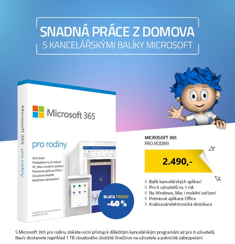 Microsoft 365 pro rodiny CZ