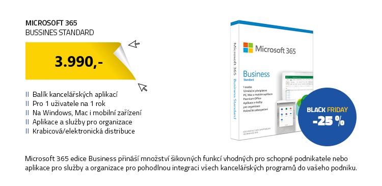 Microsoft 365 Business Standard CZ
