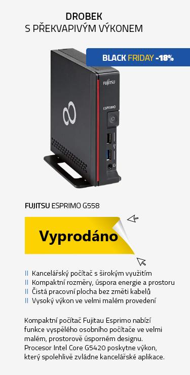 Počítač Fujitsu ESPRIMO G558