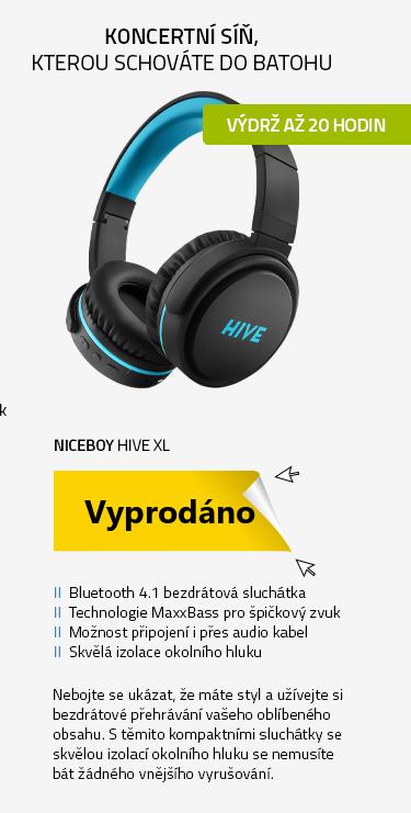 Niceboy HIVE XL černá