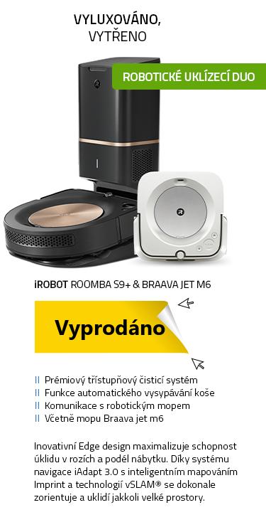 iRobot Roomba s9+ & Braava jet m6