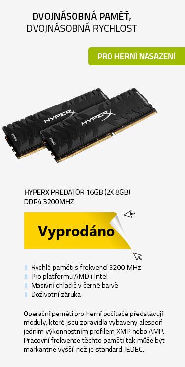HyperX Predator 16GB 3200MHz DDR4