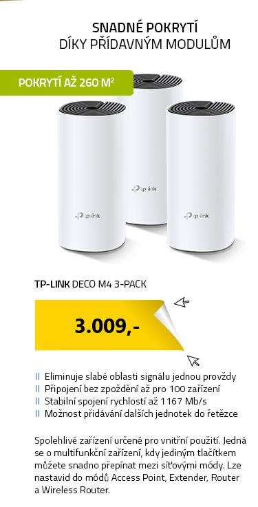 TP-LINK Deco M4 3-pack