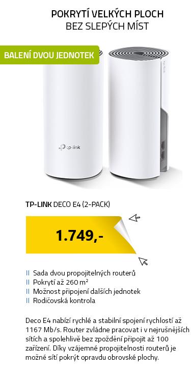 TP-LINK Deco E4 (2-pack)