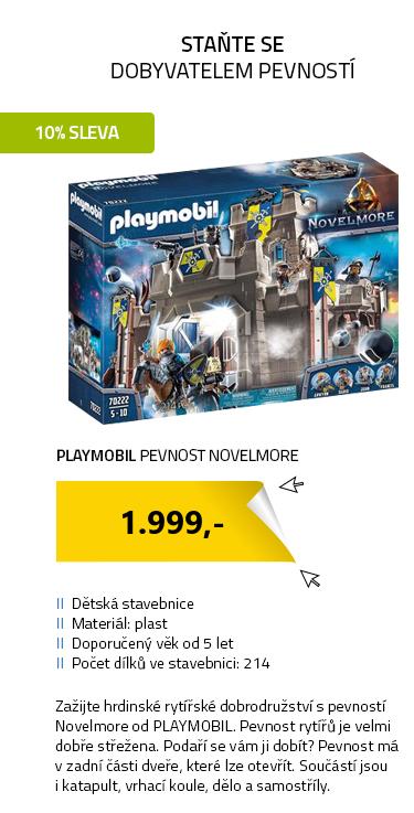 Playmobil Novelmore 70222 Pevnost Novelmore