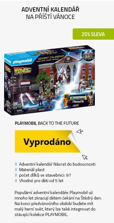 """Playmobil 70574 Adventní kalendář """"Back to the Future"""""""