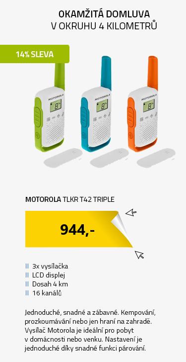 Motorola TLKR T42 Triple