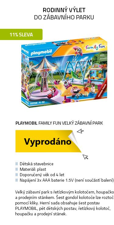 Playmobil Family Fun 70558 Velký zábavní park