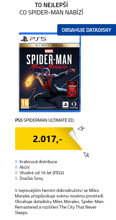 PS5 Spiderman Ultimate Ed.