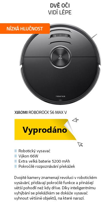 Xiaomi Roborock S6 Max V černá