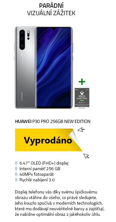 Mobilní telefon - HUAWEI P30 Pro 256GB New Edition Silver