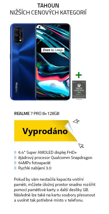 Mobilní telefon - Realme 7 Pro 8+128GB Mirror Blue