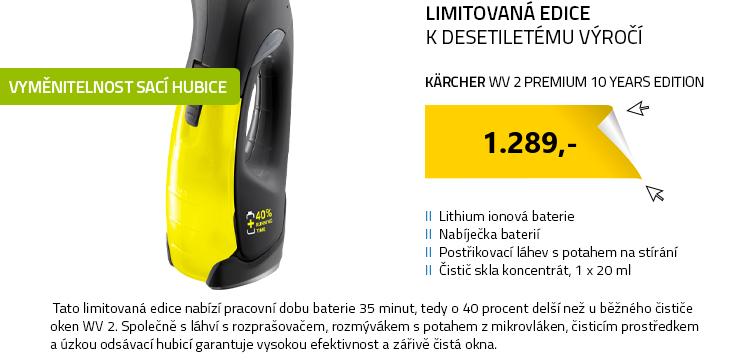 Kärcher WV 2 Premium 10 Years Edition