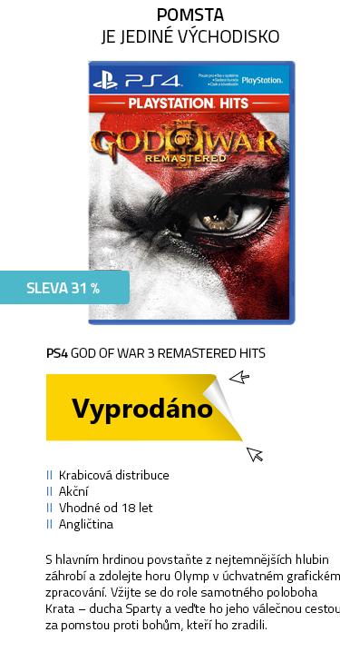 PS4 God of War 3 Remastered HITS