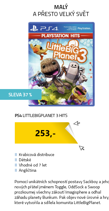 PS4 LittleBigPlanet 3 HITS