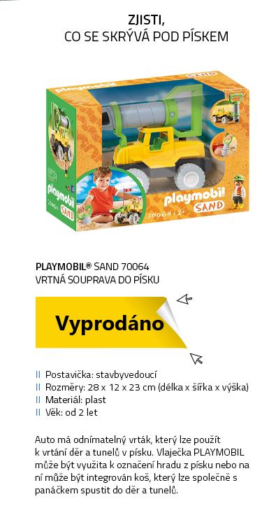 Playmobil SAND 70064 Vrtná souprava do písku