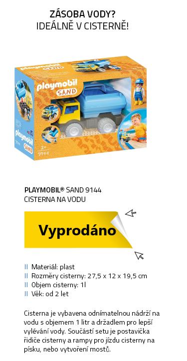 Playmobil SAND 9144 Cisterna na vodu