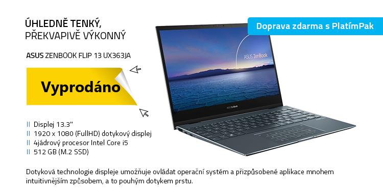 Notebook ASUS ZenBook Flip 13 UX363JA šedá