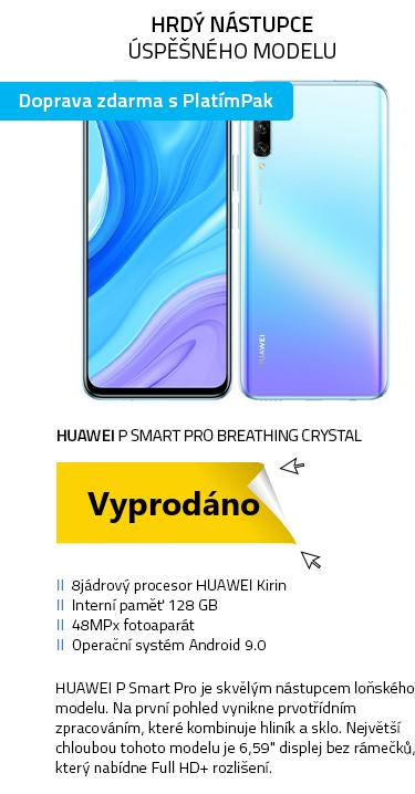 Mobilní telefon - Huawei P smart Pro Breathing Crystal