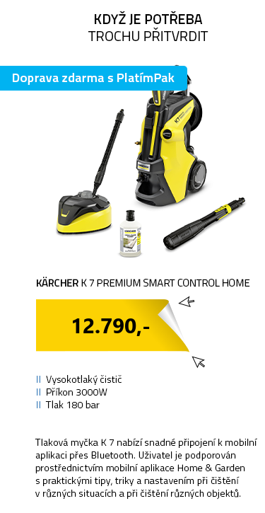 Kärcher K 7 Premium Smart Control Home