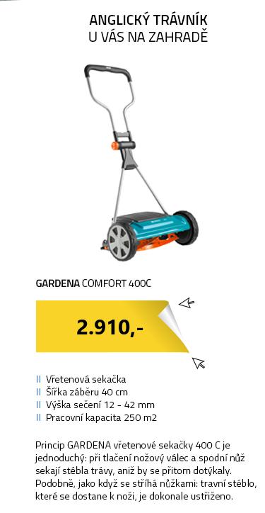 Gardena Comfort Vřetenová sekačka 400 C
