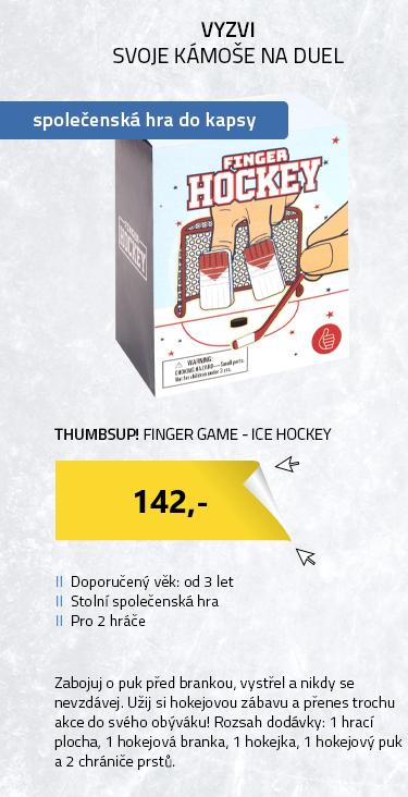 ThumbsUp! Finger Game - Ice Hockey