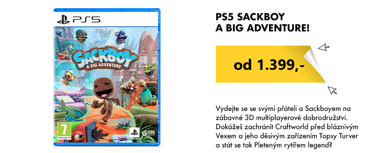PS4 Sackboy A Big Adventure!