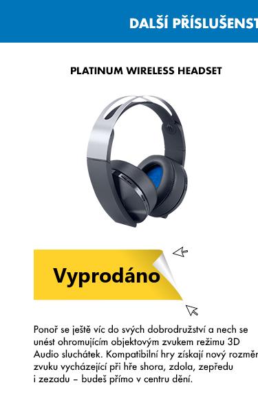 Playstation - Platinum Wireless Headset
