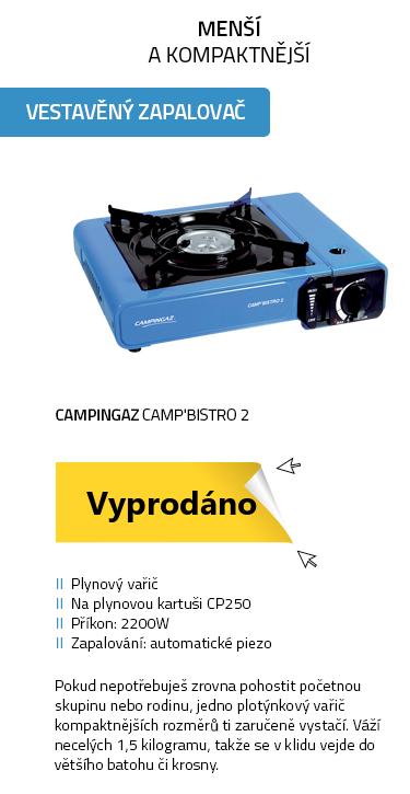 CAMPINGAZ Camp'Bistro 2