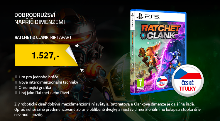 PS5 Ratchet and Clank: Rift Apart