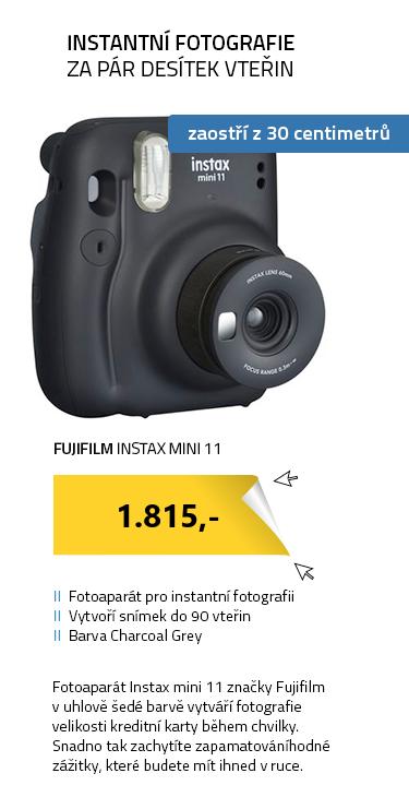 Fujifilm Instax MINI 11 šedá