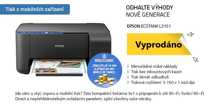 EPSON EcoTank L3151 černá