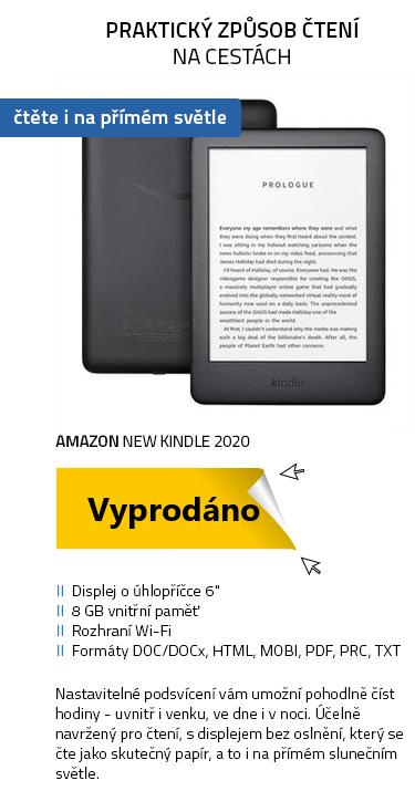 Amazon New Kindle 2020 černá SPONZOROVANÁ VERZE