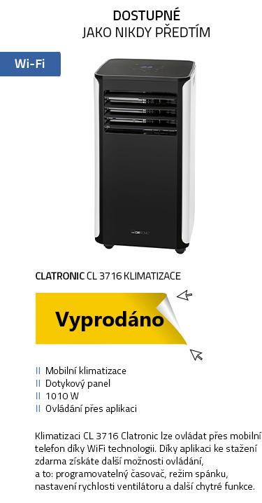Clatronic CL 3716 klimatizace černá