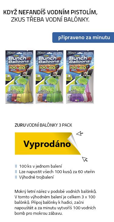 Zuru - Vodní balónky 3 pack