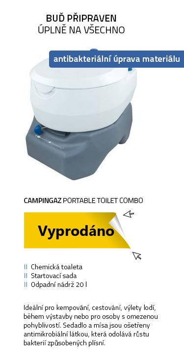 CAMPINGAZ 20L PORTABLE TOILET COMBO