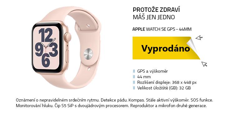 Chytré hodinky Apple Watch SE 44mm