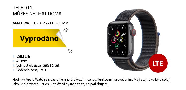 Chytré hodinky Apple Watch SE GPS+LTE 40mm