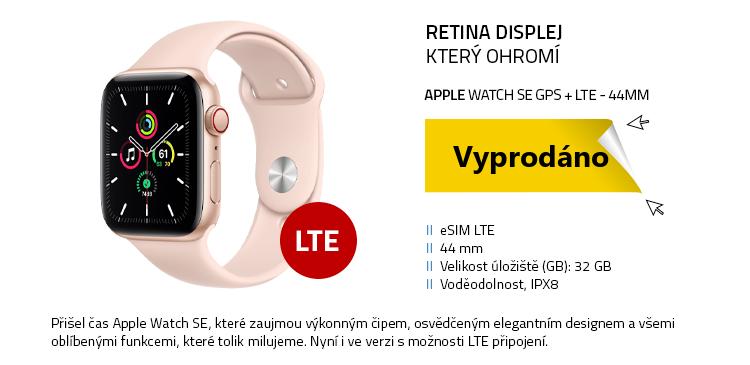 Chytré hodinky Apple Watch SE GPS+LTE 44mm