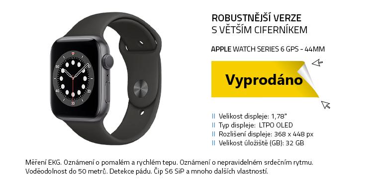 Chytré hodinky Apple Watch Series 6 GPS 44mm