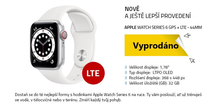 Chytré hodinky Apple Watch Series 6 GPS+LTE 44mm