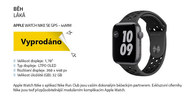 Chytré hodinky Apple Watch Nike SE 44mm