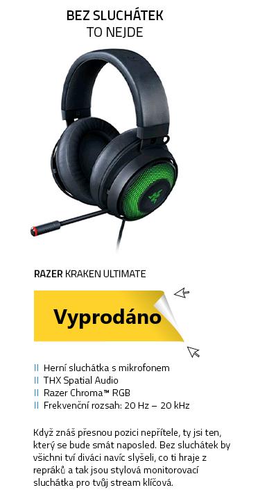 Razer Kraken Ultimate černá