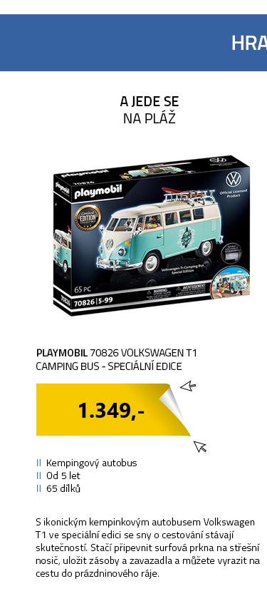 Playmobil 70826 Volkswagen T1 Camping Bus