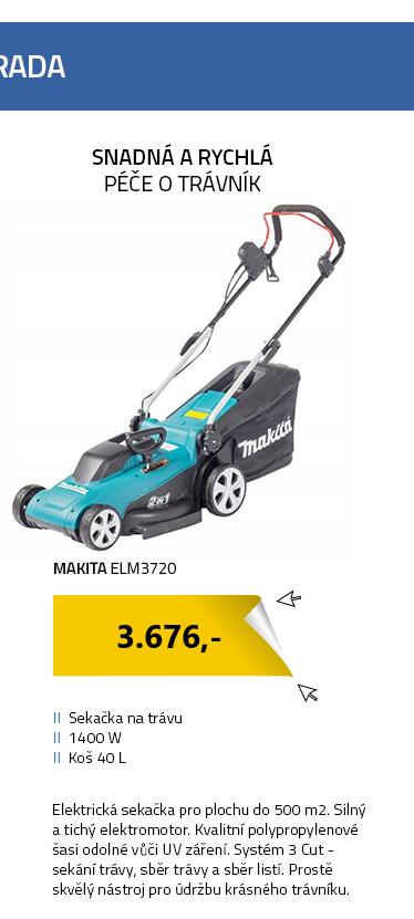Makita ELM3720