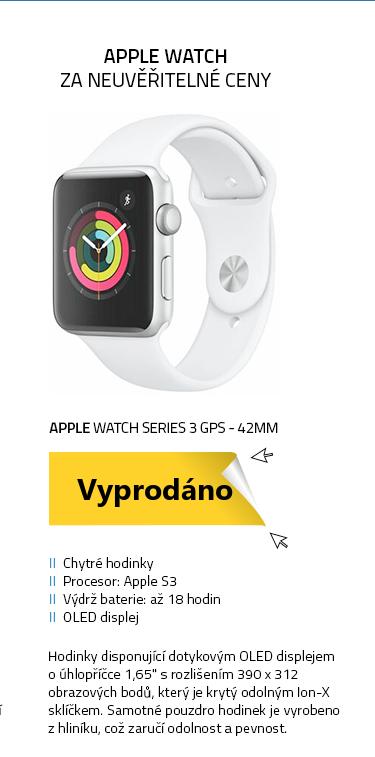 Chytré hodinky Apple Watch Series 3 GPS