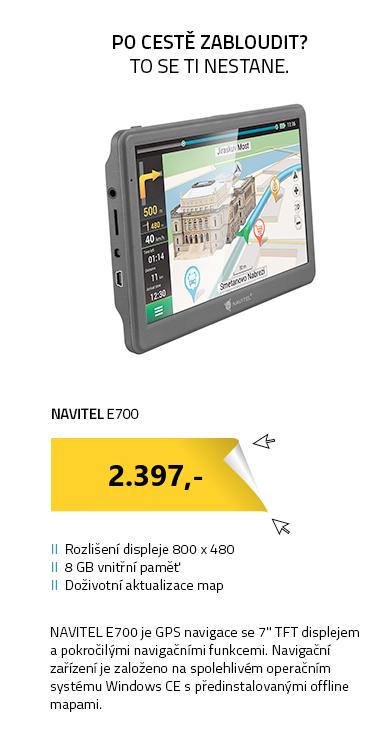 Navitel E700 GPS navigace